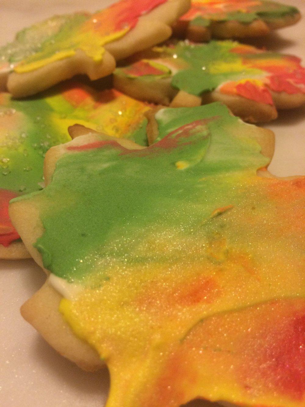 Autumn Sugar Cookie Royal Icing Decorating Tutorial