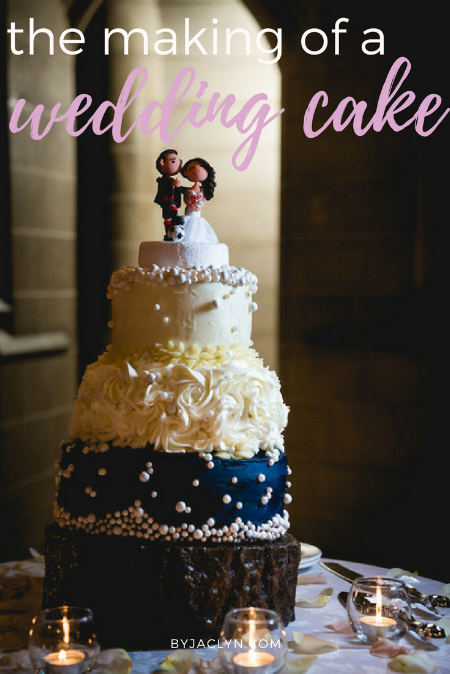 DIY Wedding Cake - The process of making your own wedding cake