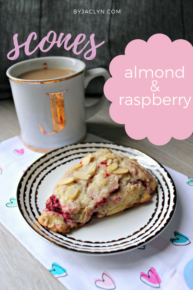 Almond Raspberry Scones
