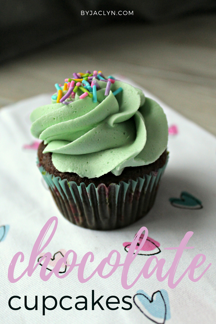 A rich and moist classic homemade chocolate cupcake recipe