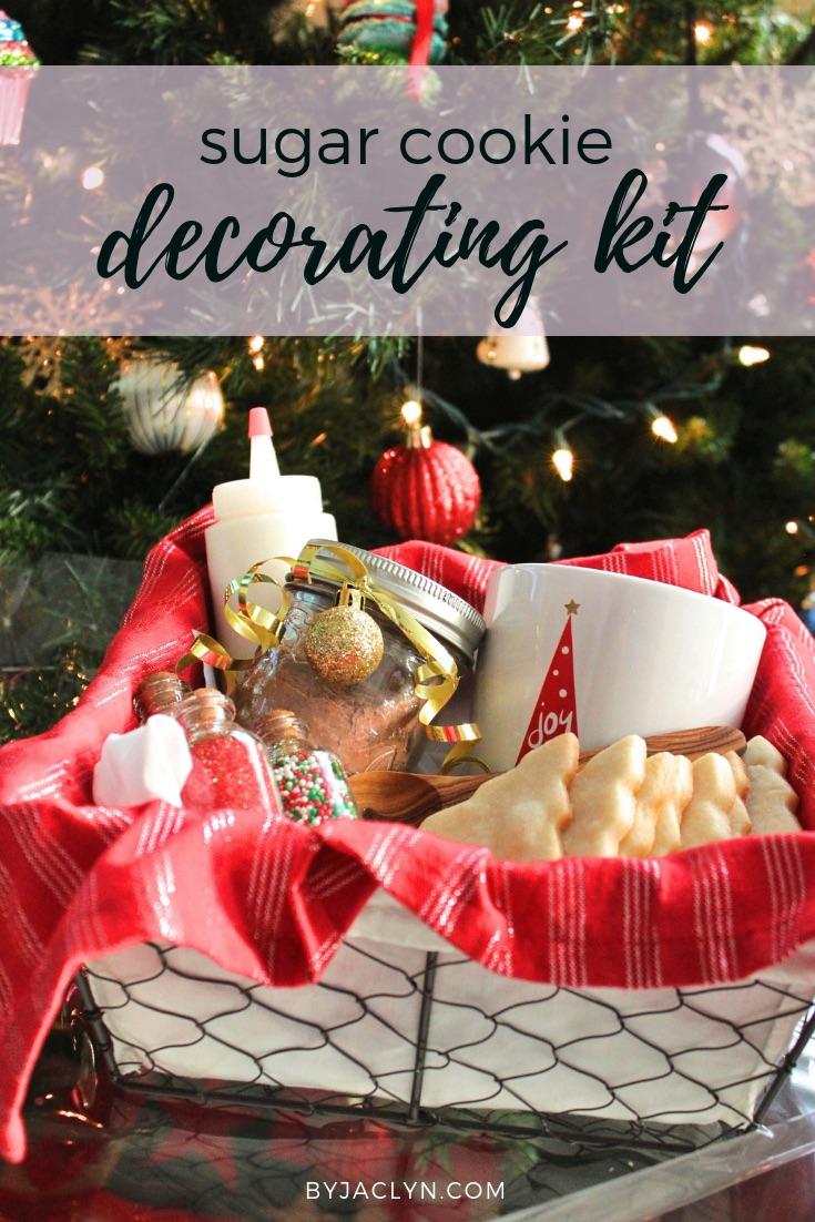 Christmas Cookie Decorating Kit.Sugar Cookie Decorating Kit By Jaclyn