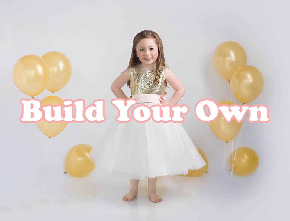 Build Design Your Own Flower Girl Dress In Texas Monbebe Lago