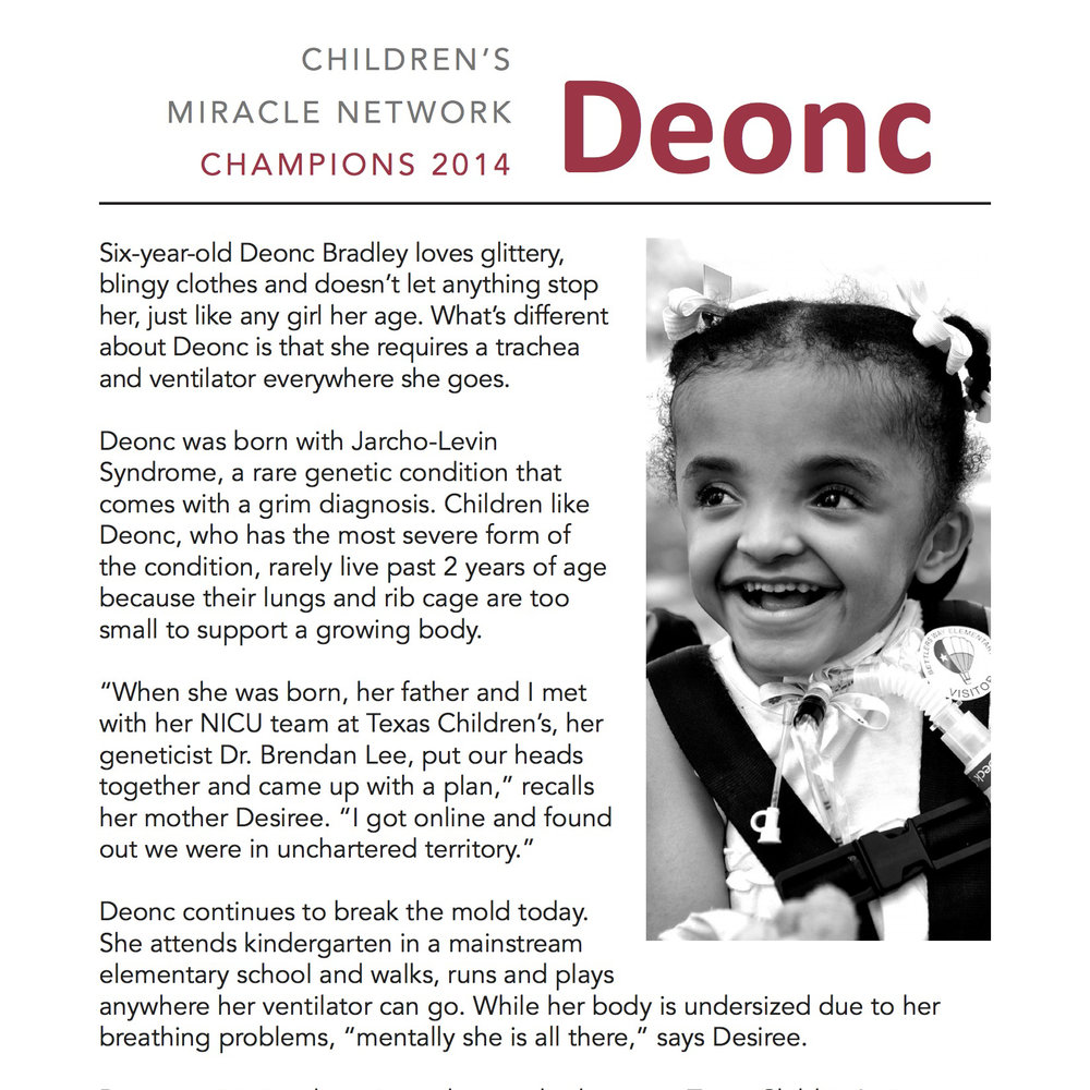 Children's Miracle Network 2014