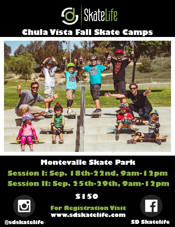 San Diego's best skateboard camps, classes, and private lessons.