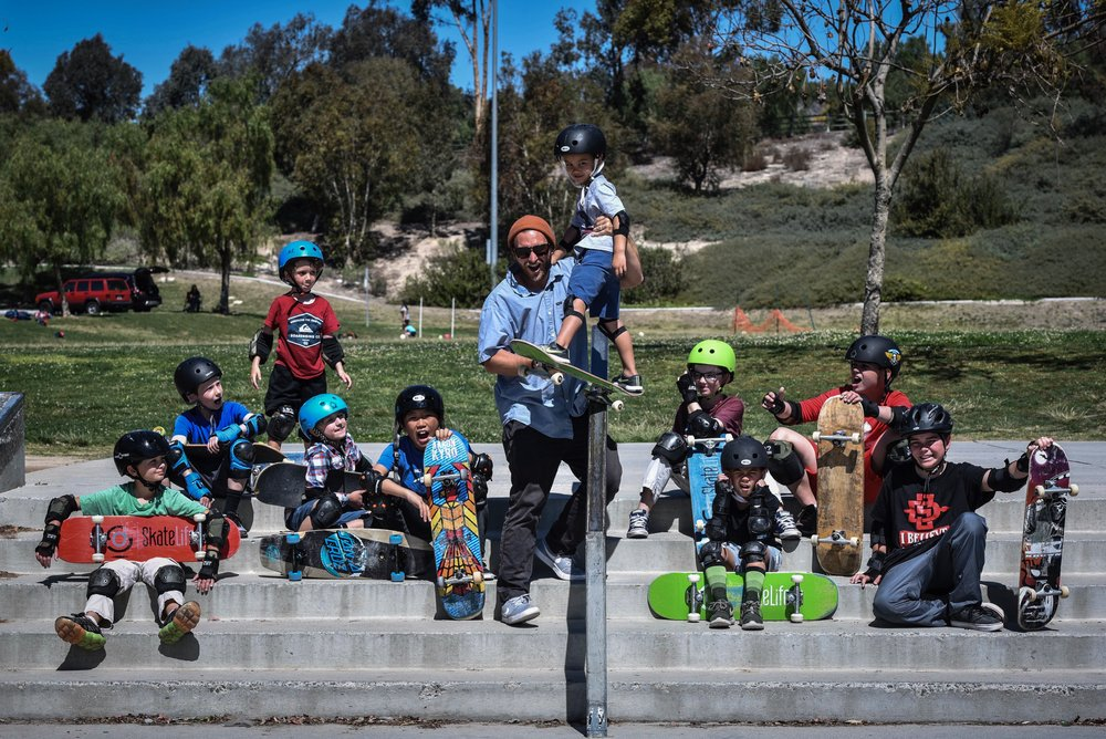 San Diegos best skateboard camps, classes, and private lessons.