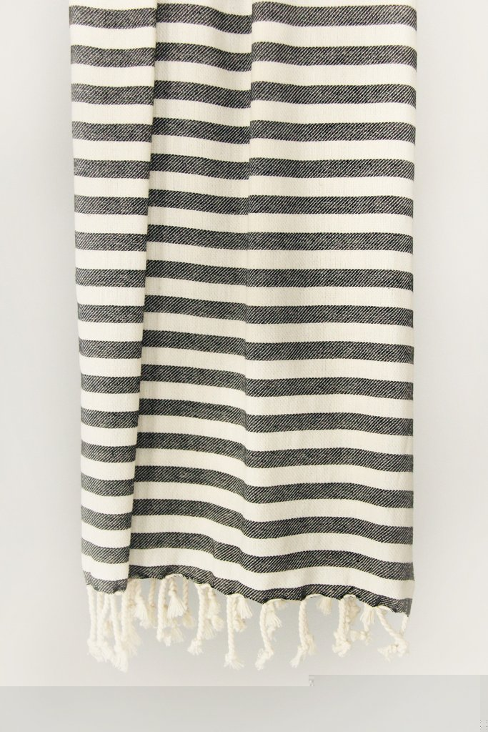 candy stripe turkish towels two colors - Turkish Towels