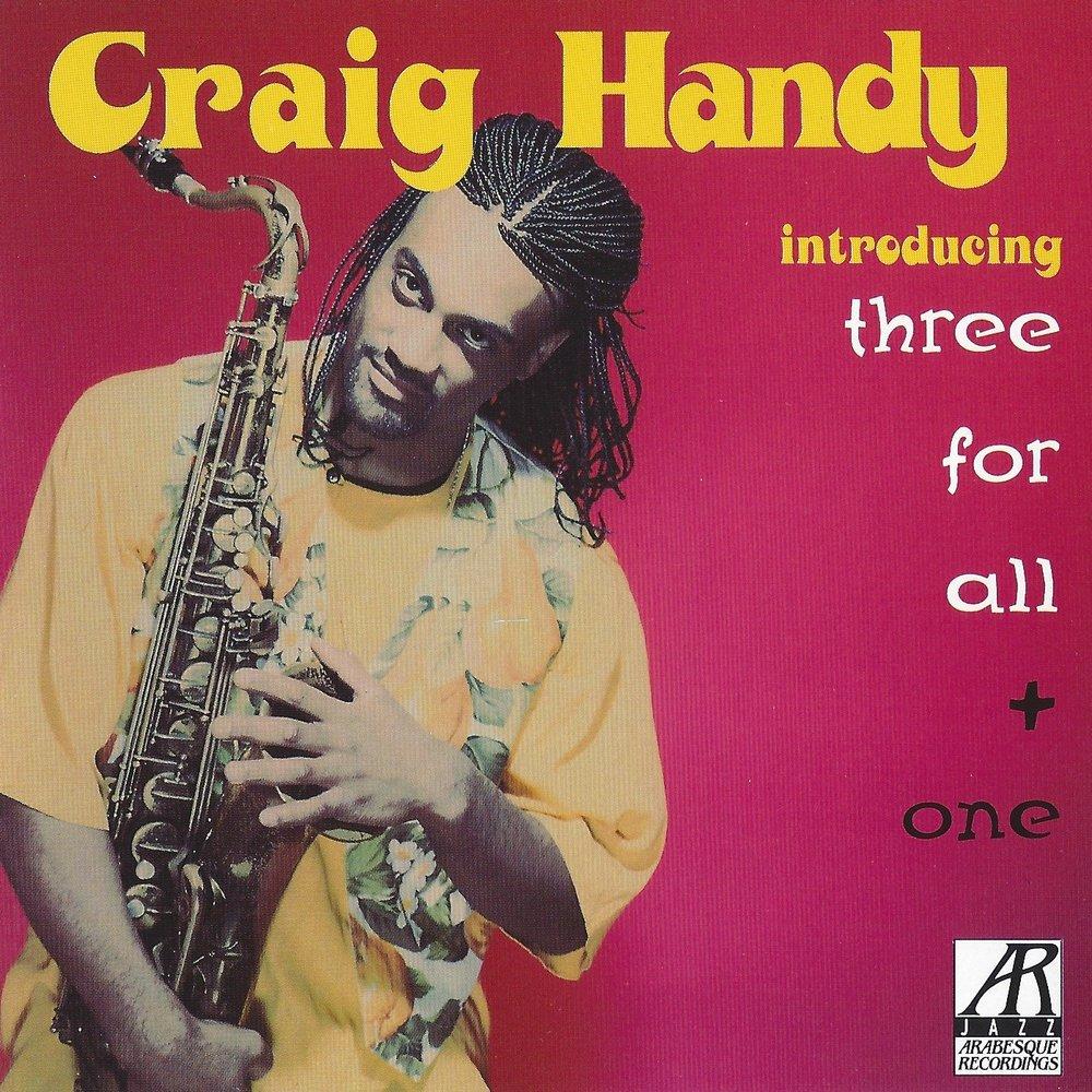 AJ0109    Introducing Three For All + One    Craig Handy