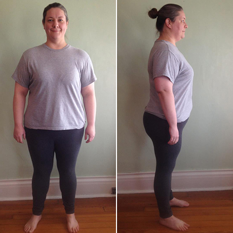 Caryn's 6 week results --> 31 pounds lost, 36 inches lost, 4% body fat lost