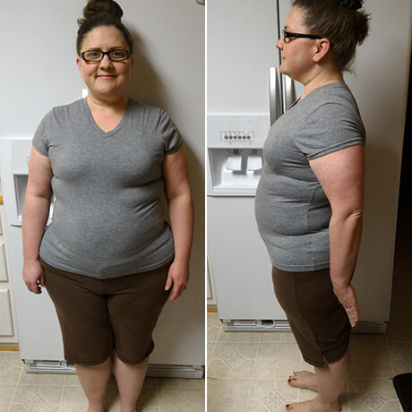 Christie's 6 week results --> 28.2 pounds lost, 28.5 inches lost