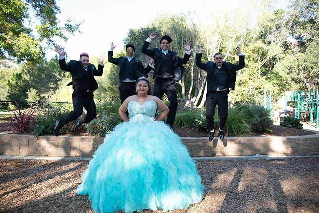 These are always the best moments to capture, getting everyone to jump!  #quinceañeraphotography #quince #quincecolor #quinceañera #sweet15 #jump #laugh #smile #bayareaphotography #bayareaquinceanera #bayarea #bay #photographer #photography