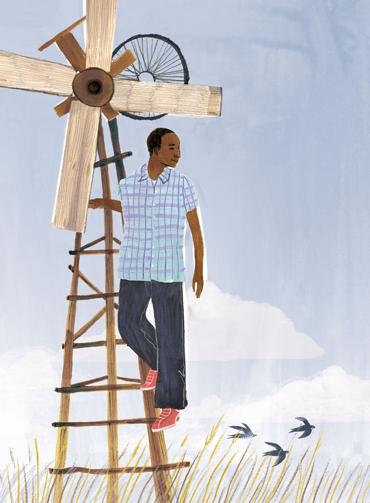 a children's book project on young education activists from around the world, portraits, illustration by penelope dullaghan
