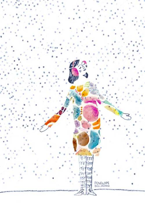 penelope dullaghan - first snow illustration