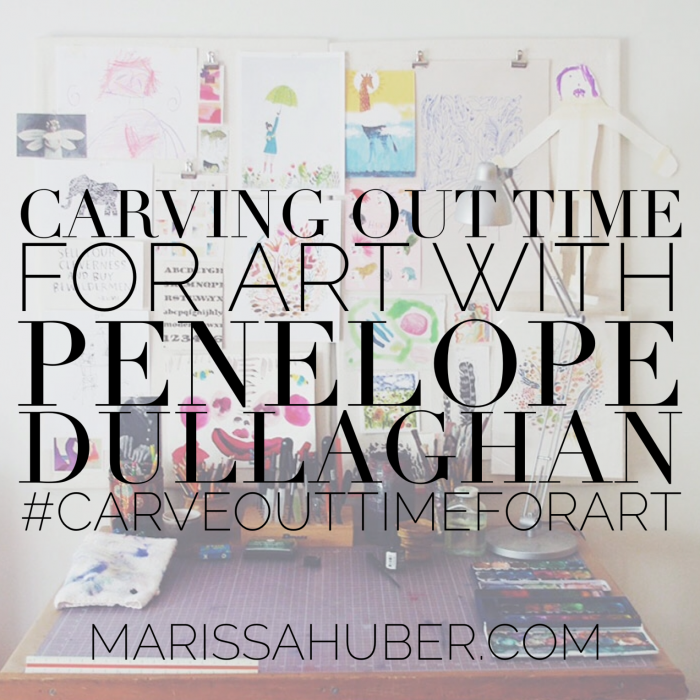 penelope dullaghan - artist mother interview