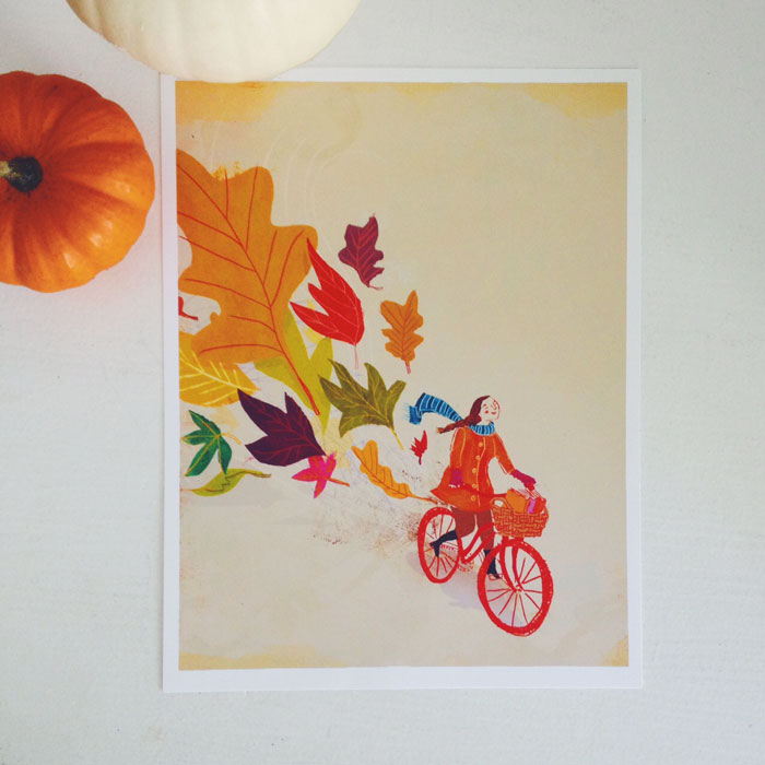 penelope dullaghan - autumn bike ride