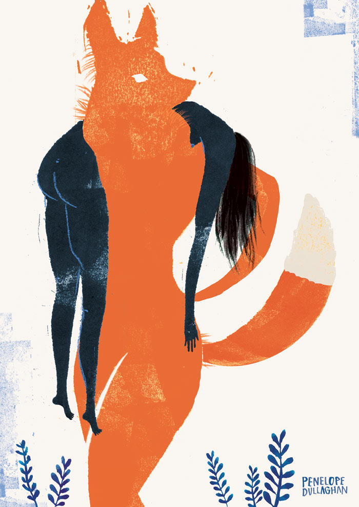 penelope dullaghan : foxy illustration - no fur