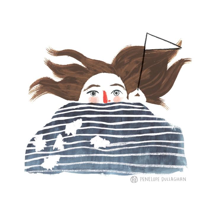 penelope dullaghan illustration : a bad cold