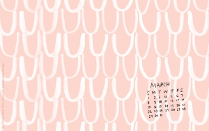 penelope dullaghan : desktop calendar - march 2015