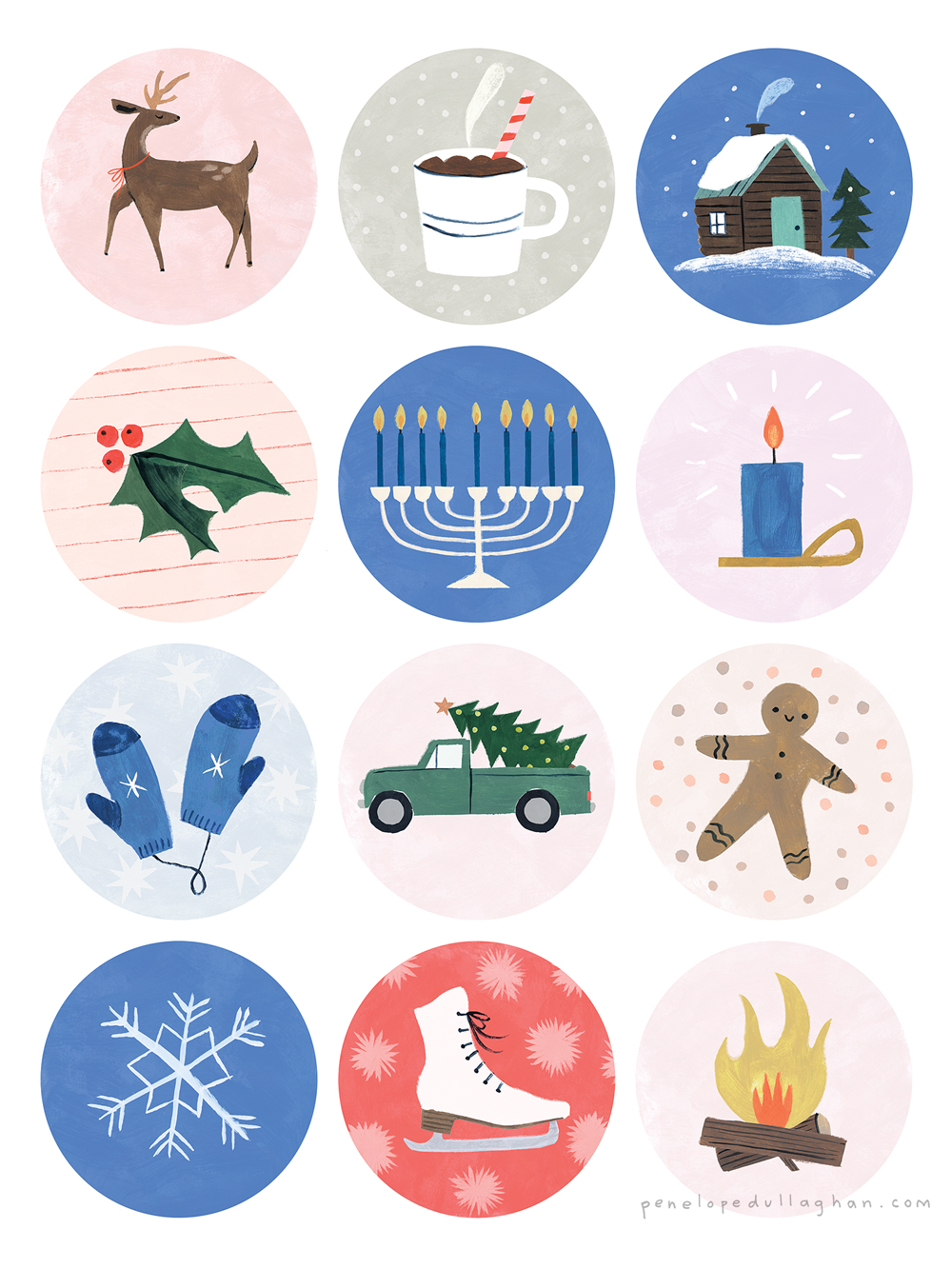 "Penelope Dullaghan - icons for Oprah Magazine's ""Oprah's Favorite Things"" giveaway"