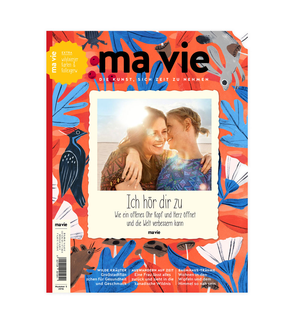 penelope dullaghan illustration for Ma Vie Magazine