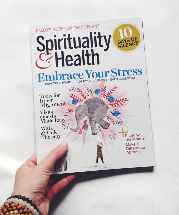 penelope dullaghan illustration for Spirituality & Health Magazine