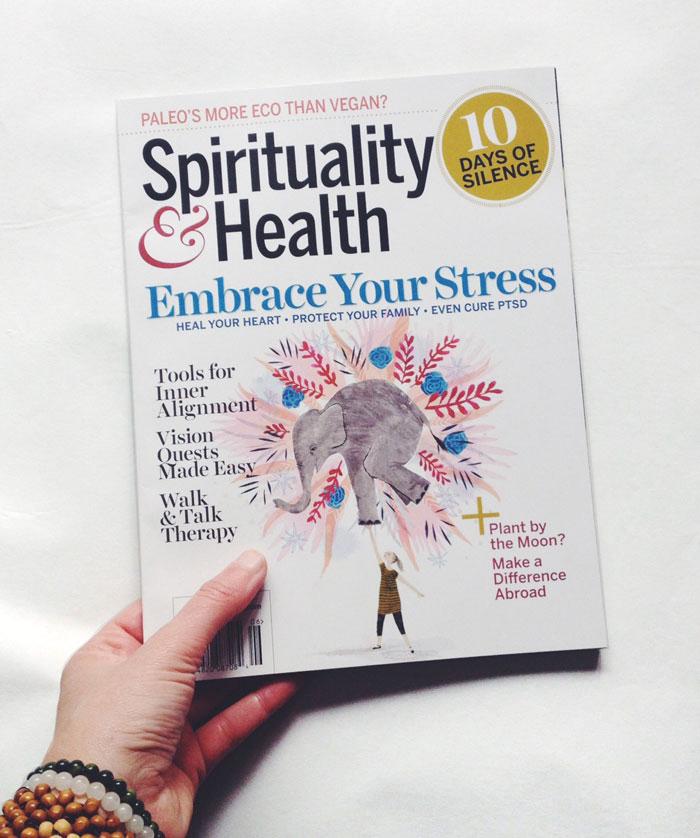penelope dullaghan illustration for Spirituality & Health Magazine