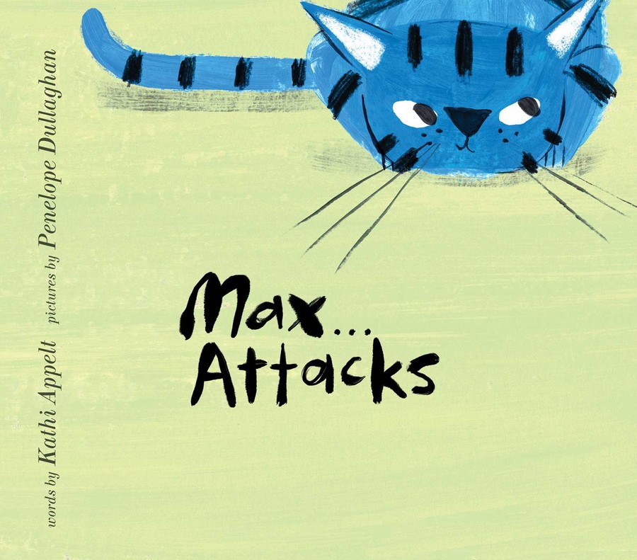 Max Attacks cover by Penelope Dullaghan