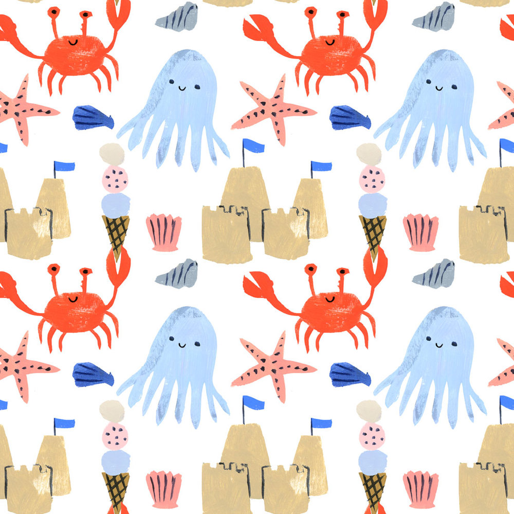 Penelope Dullaghan - Patterns for Baby - Beach