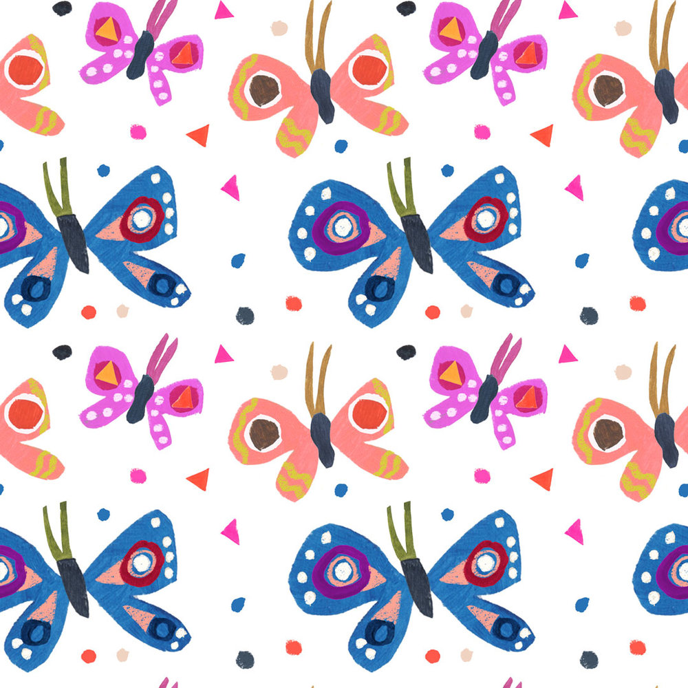 Penelope Dullaghan - Patterns for Baby - Butterflies