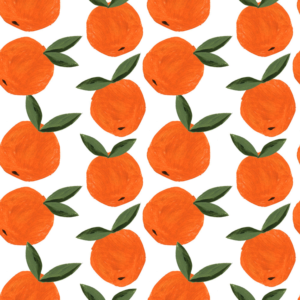 Penelope Dullaghan - Patterns for Baby - Oranges