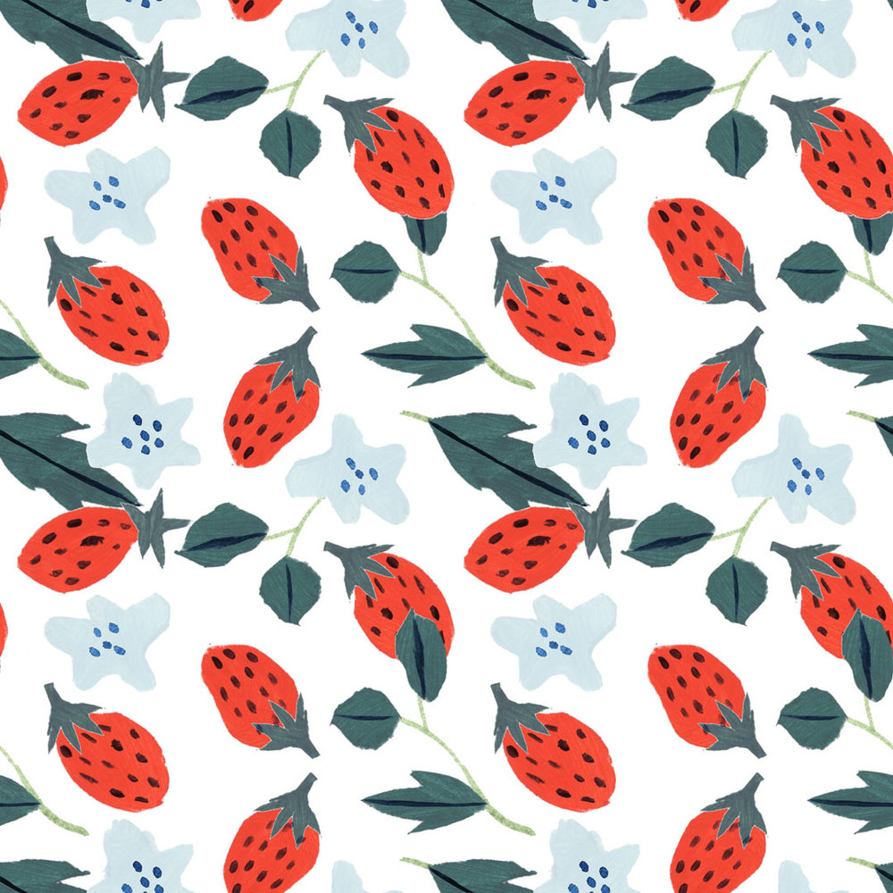 Penelope Dullaghan - Patterns for Baby - Strawberries