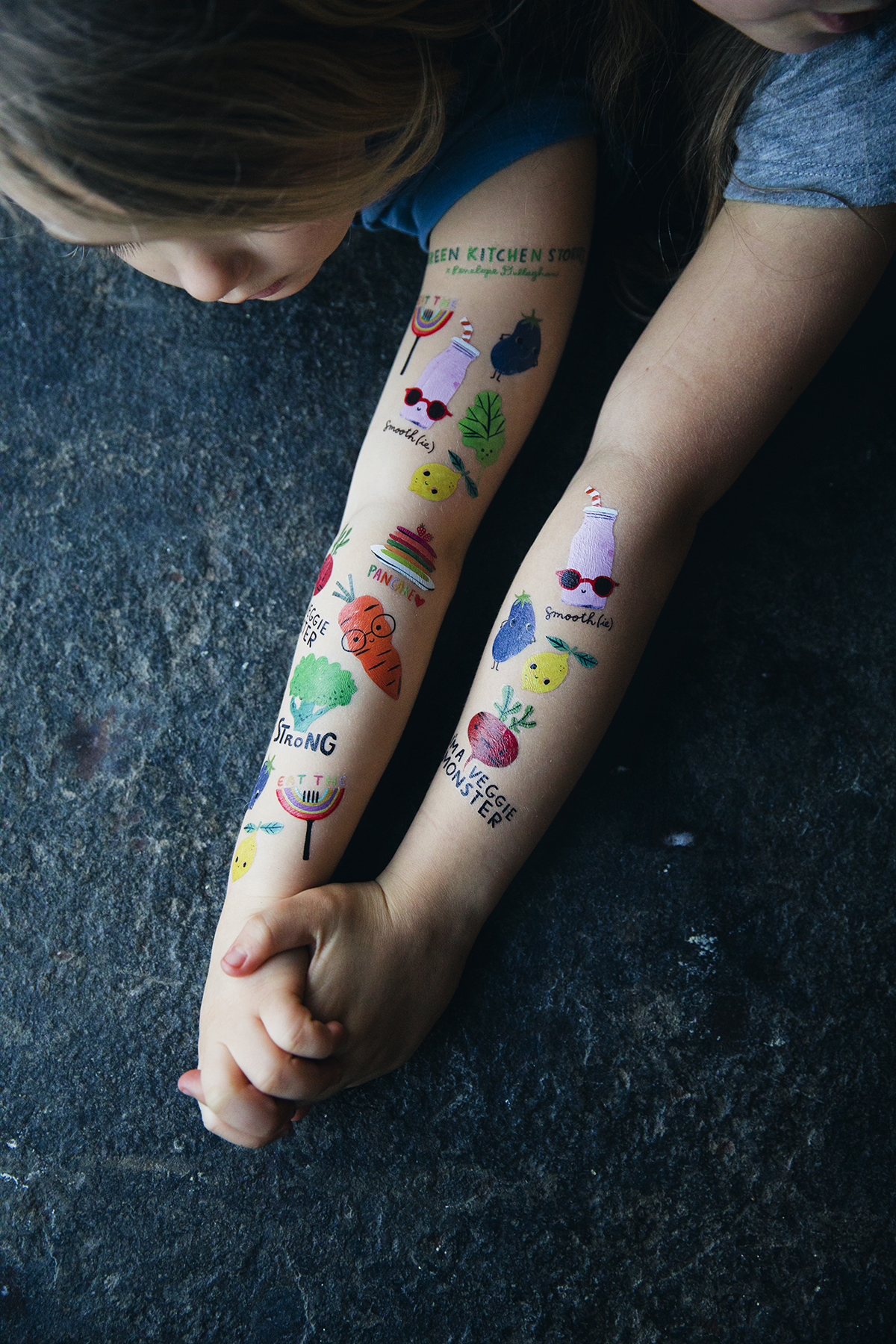 Green Kitchen Stories Temporary Tattoos Penelope Dullaghan