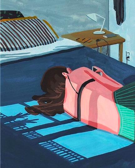 2017, Yi Seula, Lazy morning.png