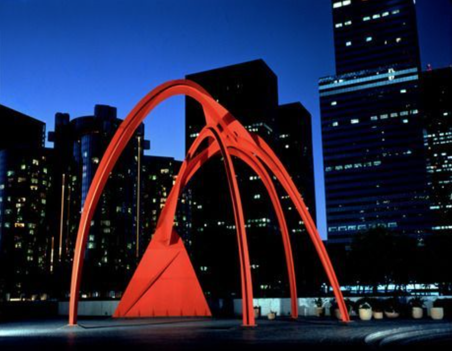 """Four Arches"" LA 1974 