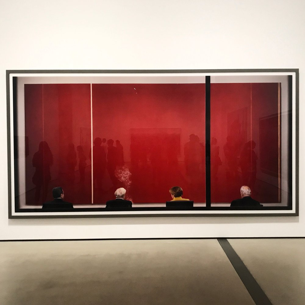 "Andreas Gursky work ""Review"""