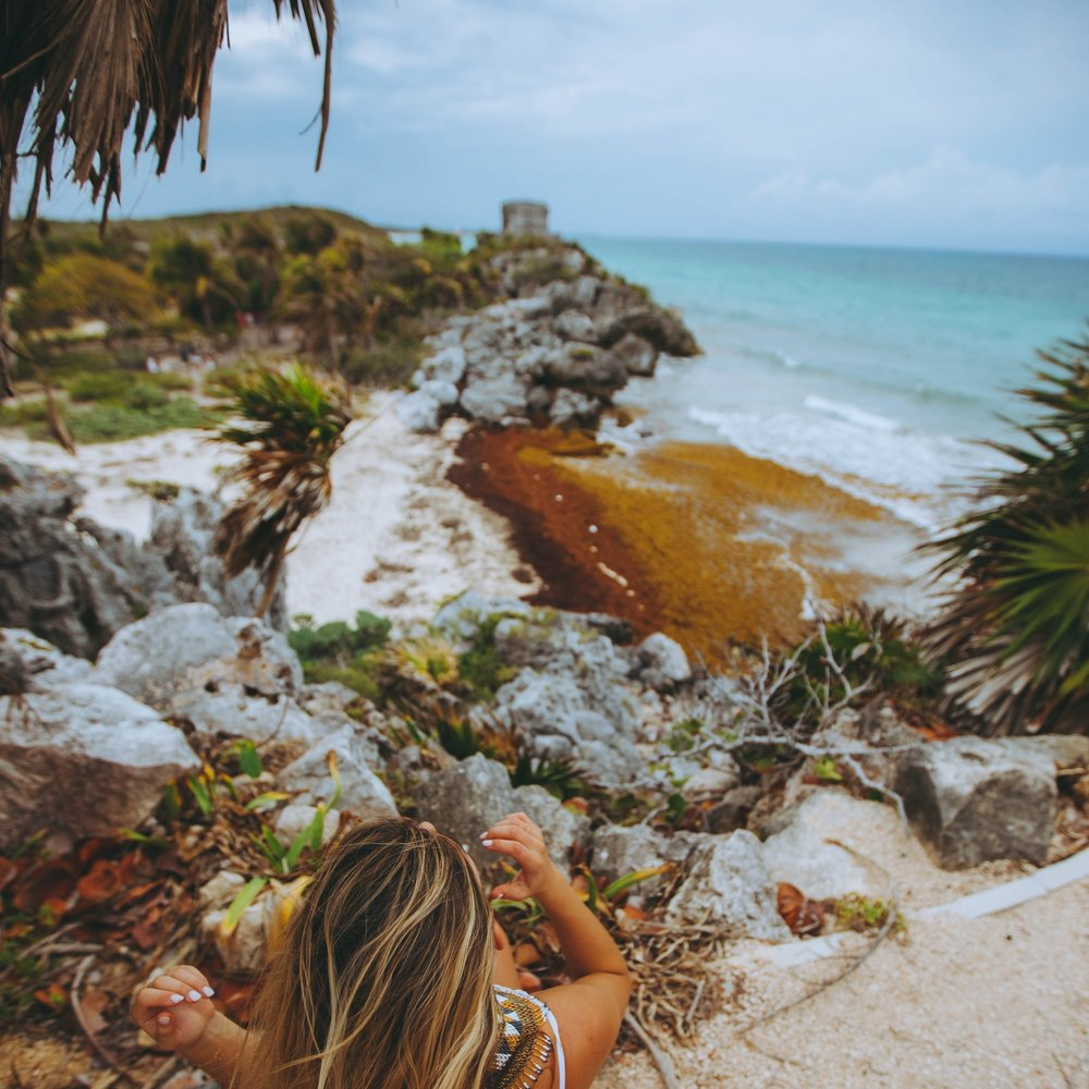 Mayan Ruin Exploration - Tour of Ek Balam, the regions most recently unearthed and most undiscovered Mayan Ruin,plus a visit and swim at the Ek Balam Cenote