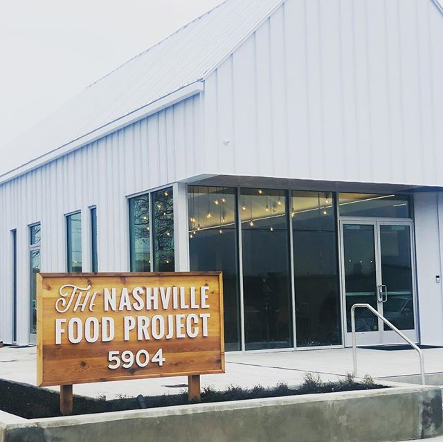 Music City Healthy Vending is excited to be donating to the Nashville Food Projects beautiful new location in the The Nations. @thenashvillefoodproject