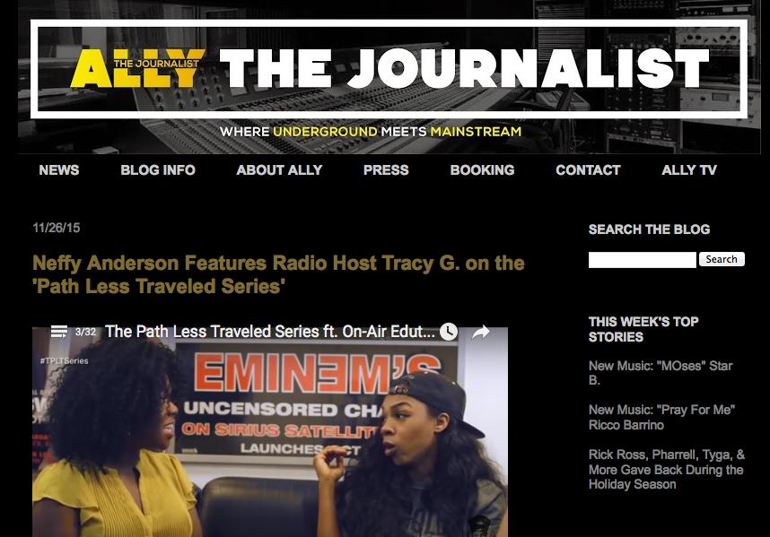 Ally The Journalist | November 2015