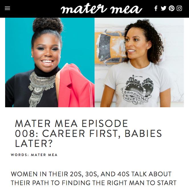 Mater Mea | September 2016