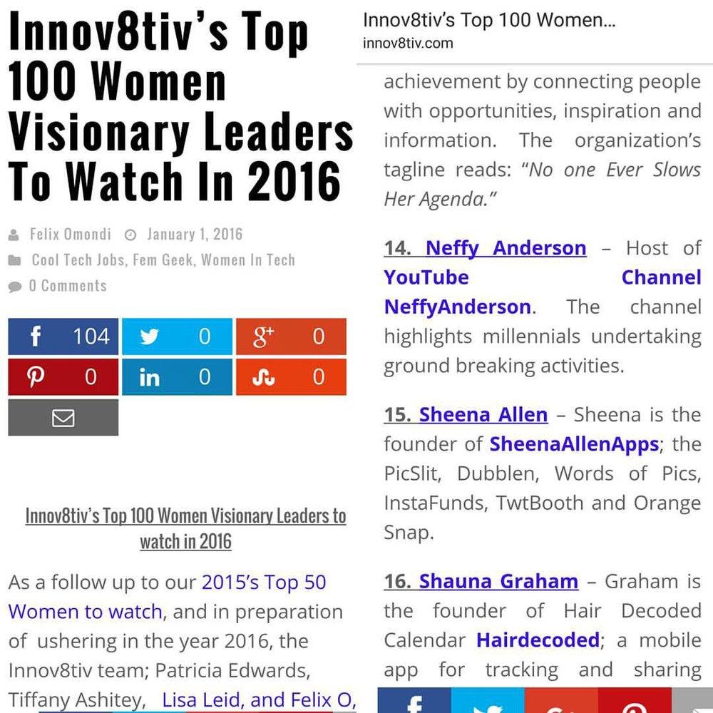 Innov8tiv Magazine | January 2016