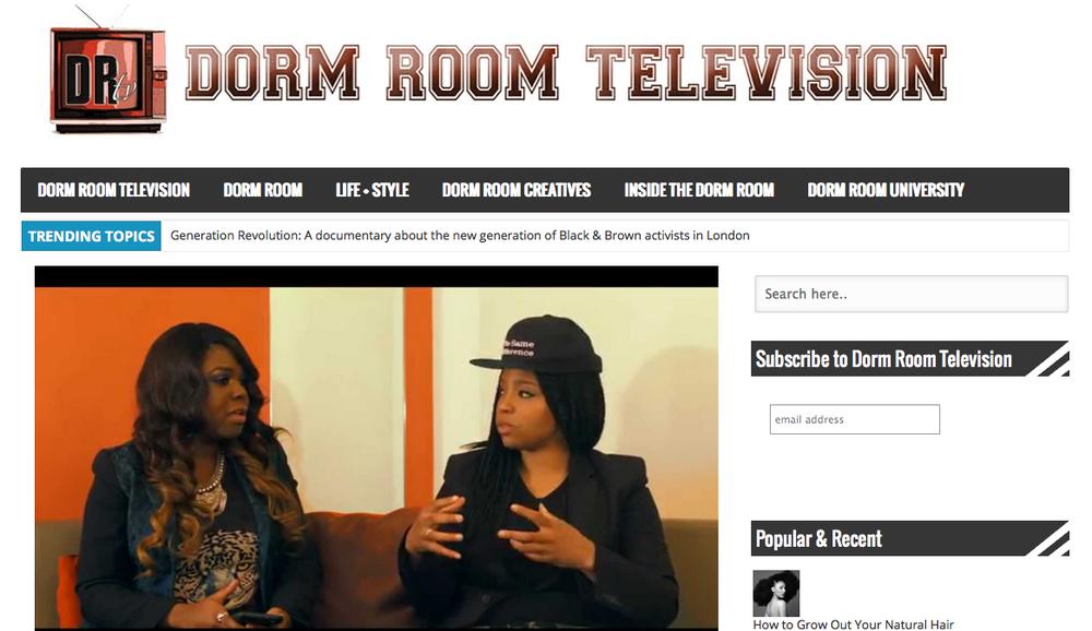 Dorm Room Television | January 2015