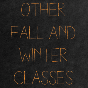 More Fall/Winter Classes
