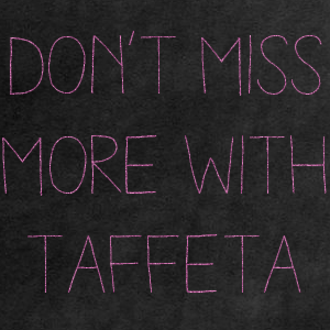 More Classes with Taffeta V