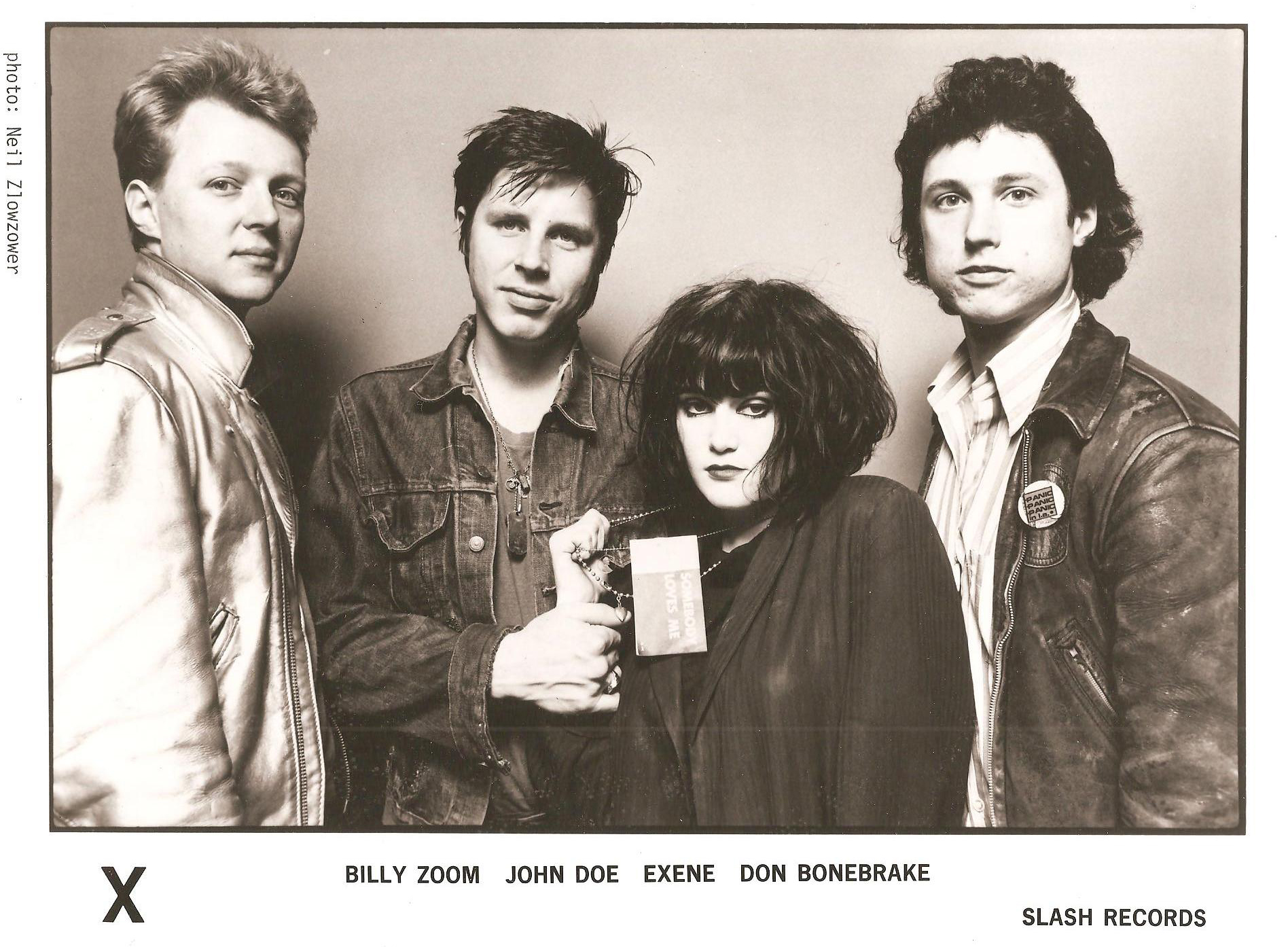 X Billy Zoom John Doe Exene DJ