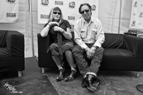John Doe & Exene Cervenka at Bottle Rock Festival - PHOTO BY JOE RUSSO