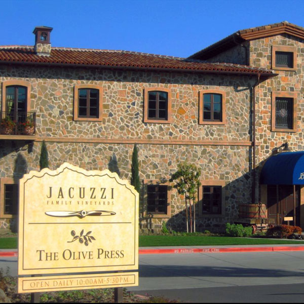 Jacuzzi Family Winery Sonoma