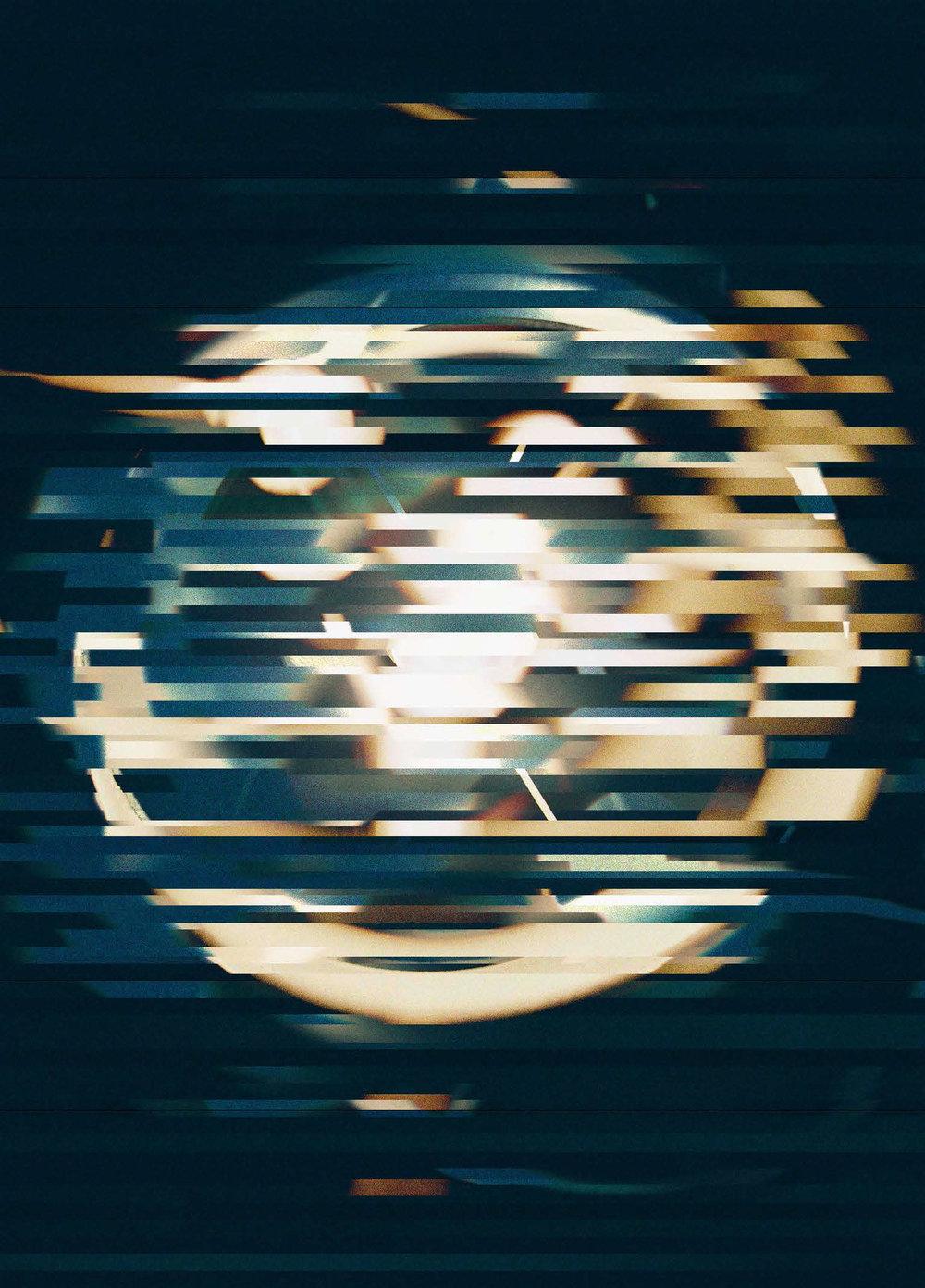 Pinlight Multiverse, 2012 12 x 16.7 inches film photograph, digitized . digital art