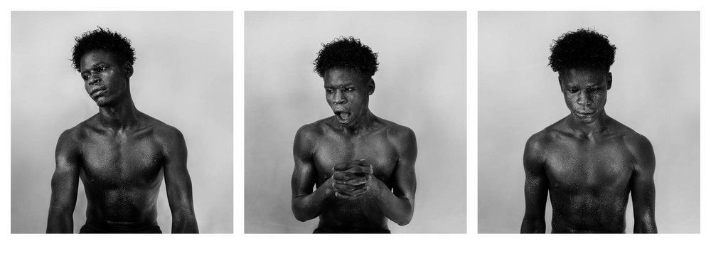 Anxiety no.3 (Triptych)