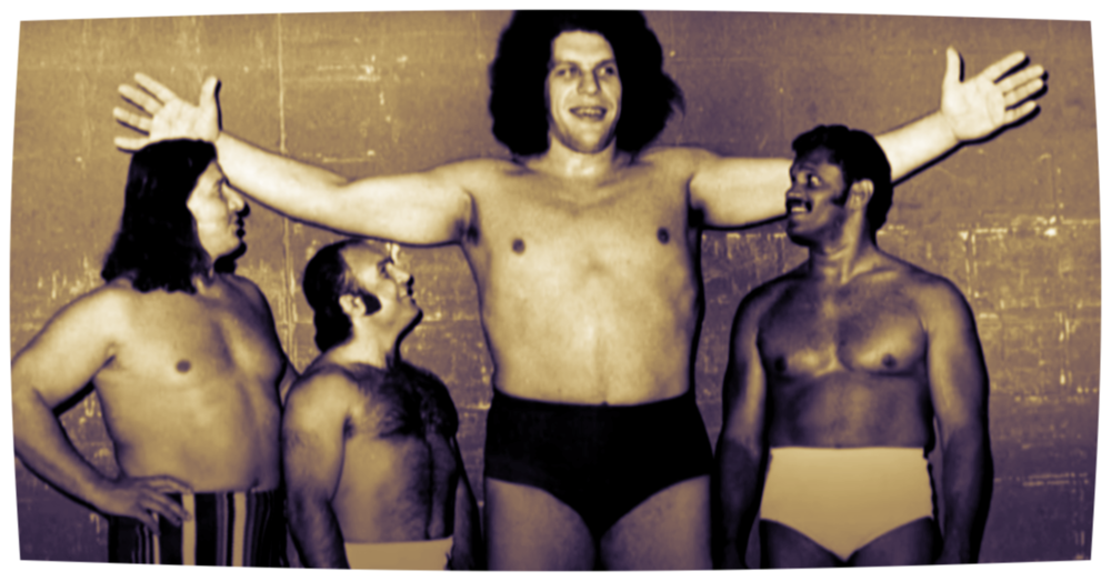 "CREDIT: ""ANDRE THE GIANT"" DOC"