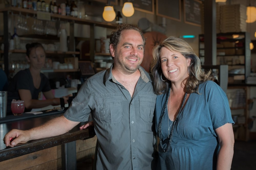 Founders & Co-owners Aaron Baumhackl & Suzanne Wright Baumhackl