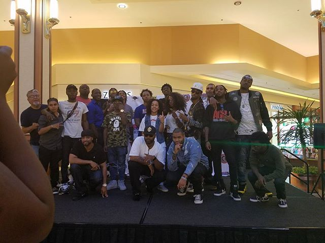 Overall it was a success!!! There will be artist coming to Atlanta to work!!! Thank you Michelle Spellman and the Pathway family for traveling all the way from Atlanta to help.... Salute to Michael Hudgins CEO of Beat Bopper for bringing everything together and delivering a successful event... You did ya thing sir!!! Super shout out again to all who came out to support.... Really meant a lot to us!!! Now on to the next!!! Newport News VA really came out to the Patrick Henry Mall and showed up!!! Thank you for having us... Bring the #YouthGotNextTour your city!!! Aaron Reid @aaronareid X Mr. Formula @theofficialformula @mtcempire  #TeamLove #FollowTheFormula #YouthGotNext #ATeam #MTCEmpire #BeatBopperinc
